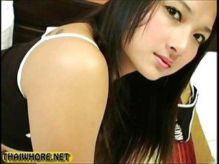 Amateur Thai Whore Creampie