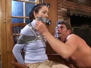 Teen Forces Babysitter and Daddy to Fuck  - HOT